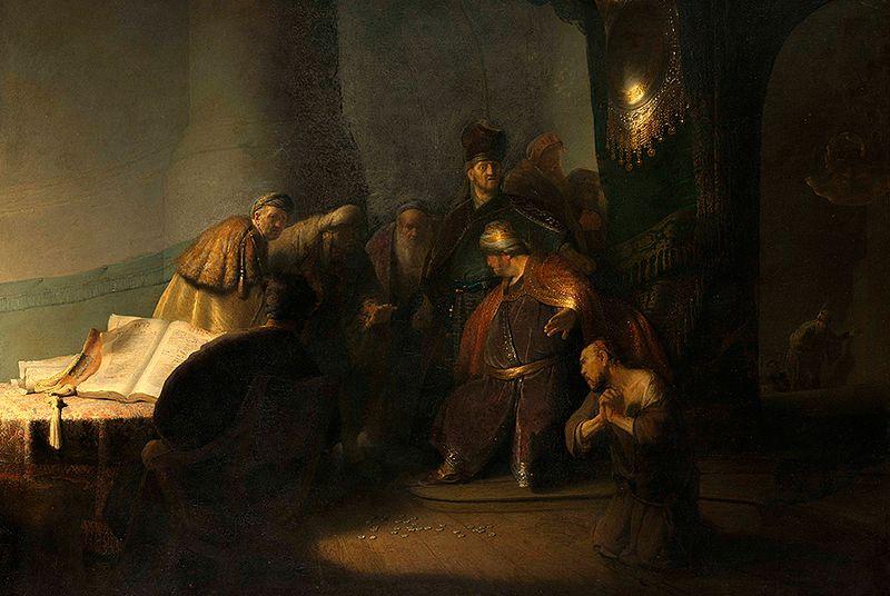 Hat Judas sich erhängt oder ist er gestürzt?